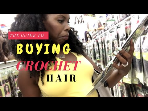 How to Buy the Right Crochet Hair at the Hair Store