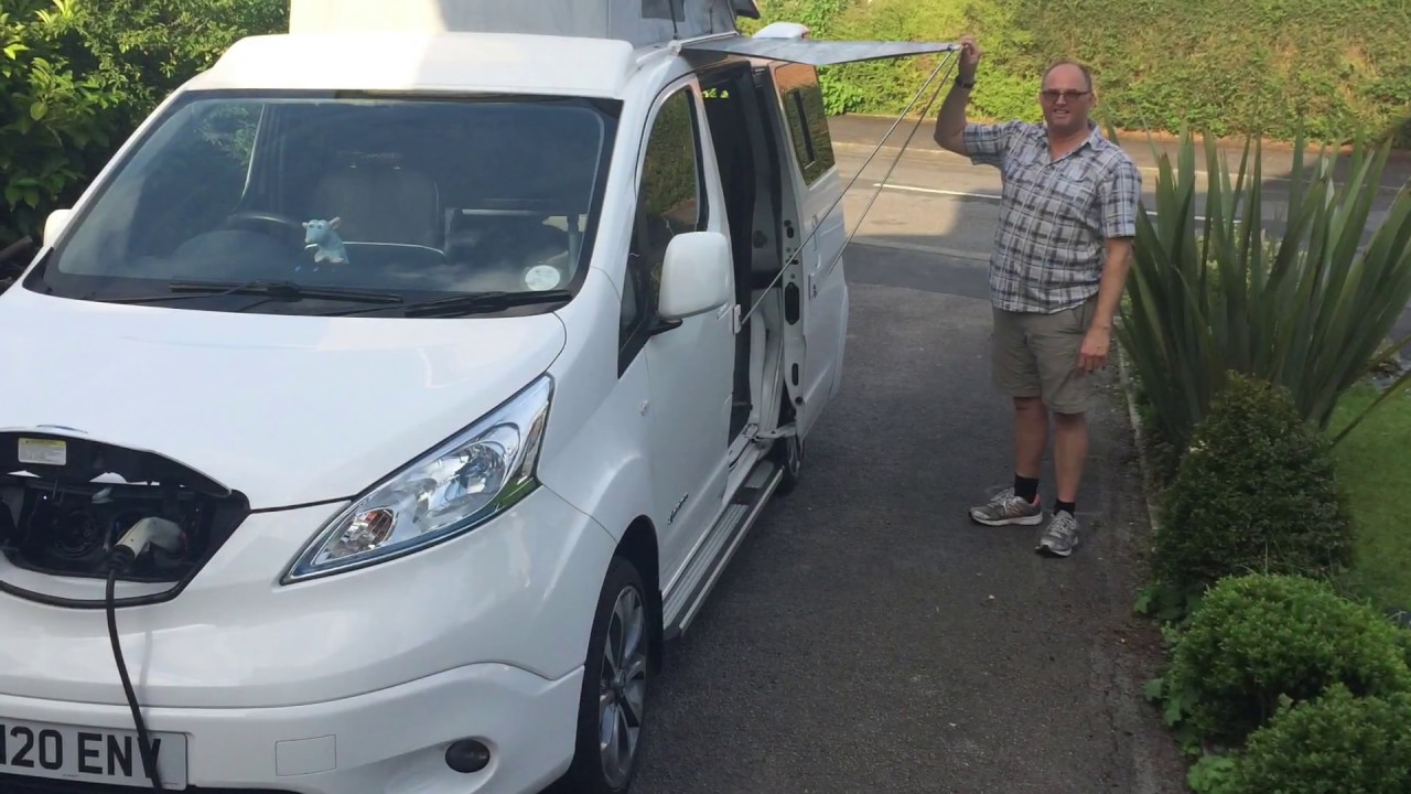 nissan e nv200 bespoke electric campervan fully converted. Black Bedroom Furniture Sets. Home Design Ideas