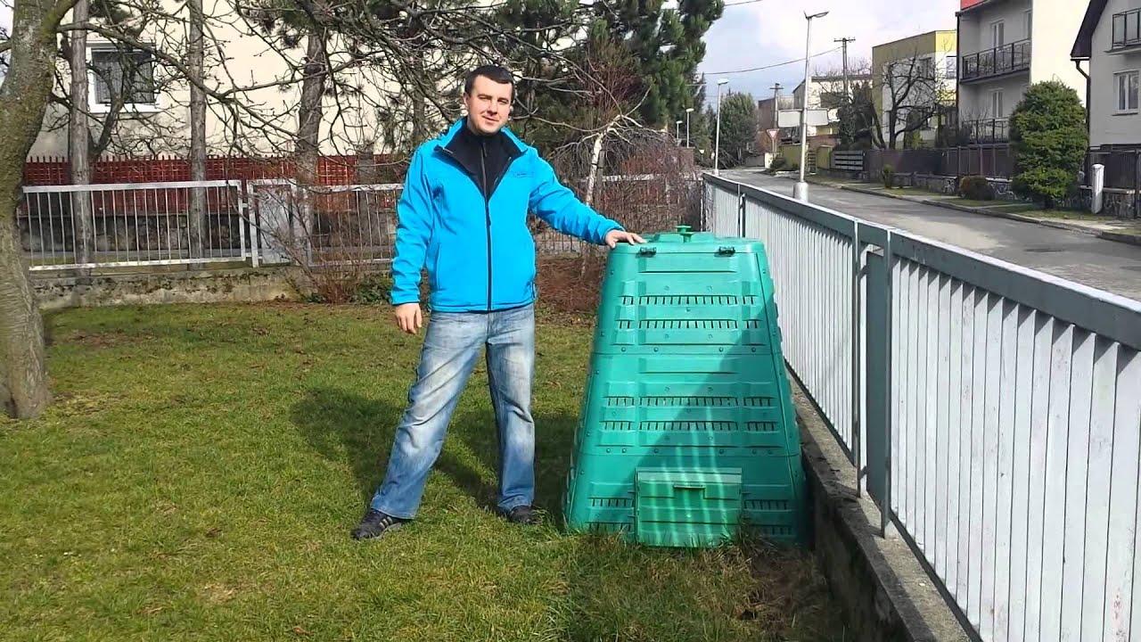 kompostér profi 700 - youtube