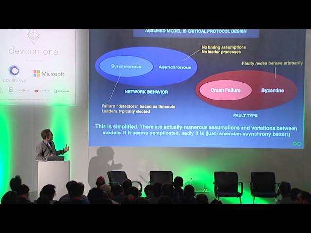 DEVCON1: Introduction to Consensus - Dominic Williams