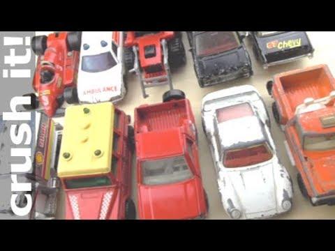 Experiment Shredding Matchbox Cars Toy