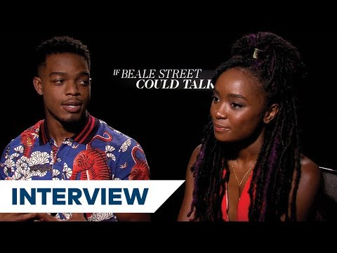 Stephan James & Kiki Layne Talk About Their Chemistry In If Beale ...
