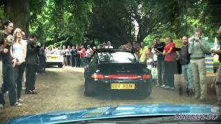 Driving through the Paŗade - Arriving at Wilton House 2011