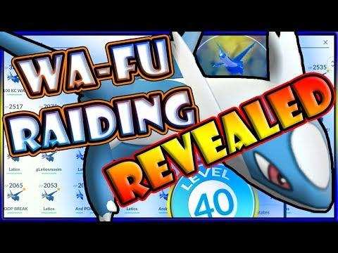 WA-FU RAIDING & POKEMON GO LEVEL 40 CLUB REVEALED! 99 RAIDS IN 1 DAY
