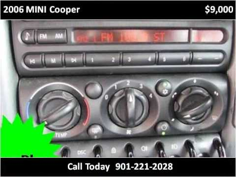 2006 mini cooper used cars olive branch ms - youtube