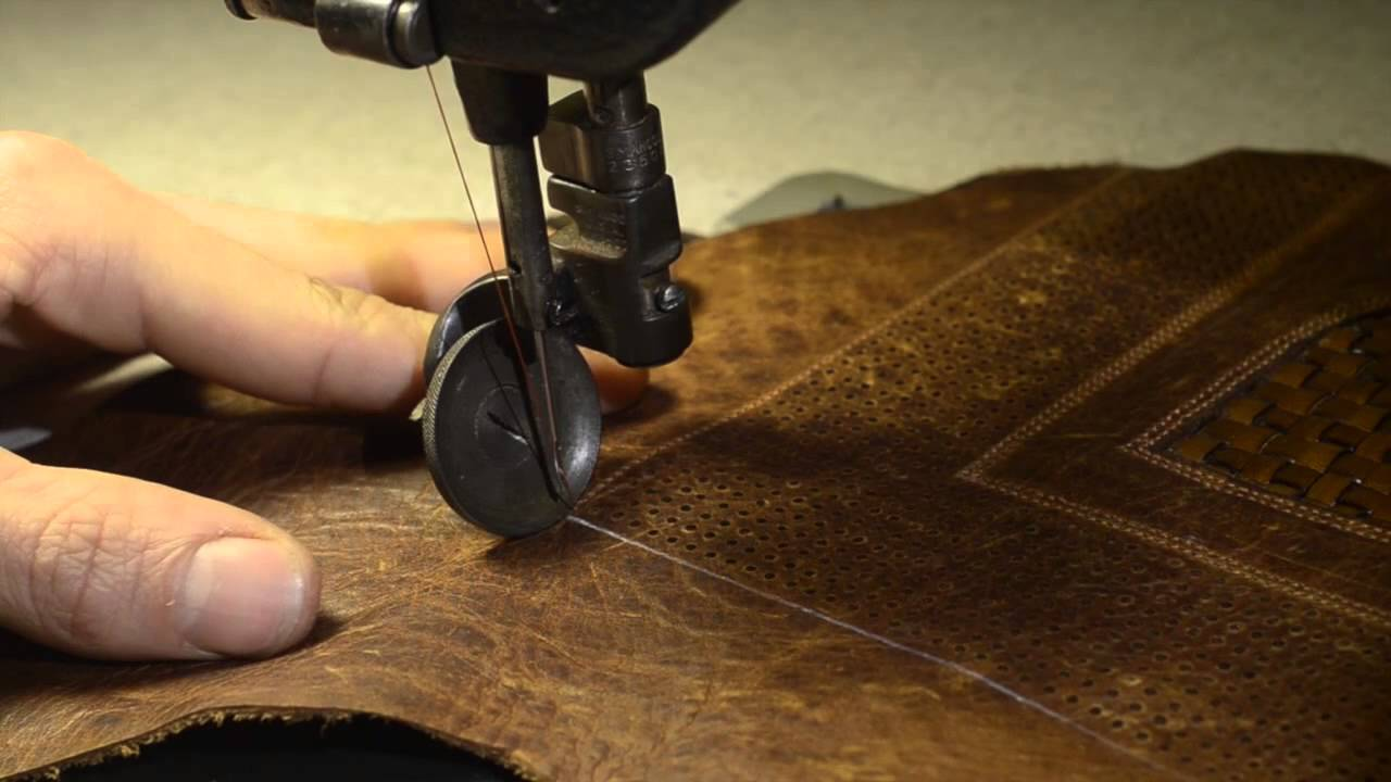 Custom Leather Bike Seat Recover Timelapse Leh Seats Youtube