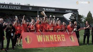 Les filles du Standard remportent la Coupe de Belgique 2018