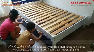 ? Giường tầng cho em bé giá rẻ đẹp gỗ tự nhiên tại Tân Bình TPHCM - giuong tang cho em be re dep