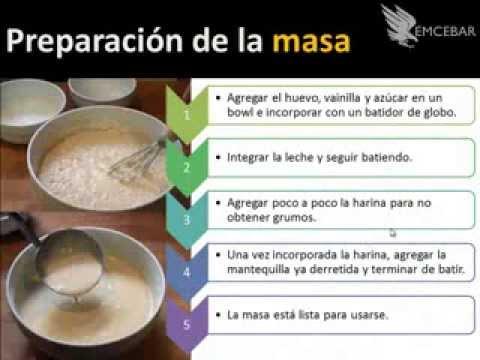 como hacer crepas receta