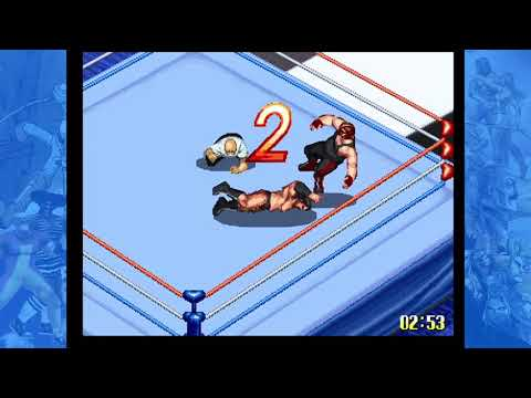 Fire Pro Wrestling S 6 Men Scramble | ファイヤープロレスリングS 6メンスクランブル (SEGA Saturn) - Victory Road Gameplay