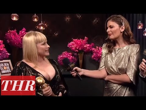 2020-golden-globes-official-aftershow-with-winner-patricia-arquette-|-thr