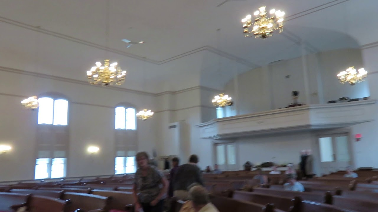 Dayton Industrial Ceiling Fans In A Church View From The