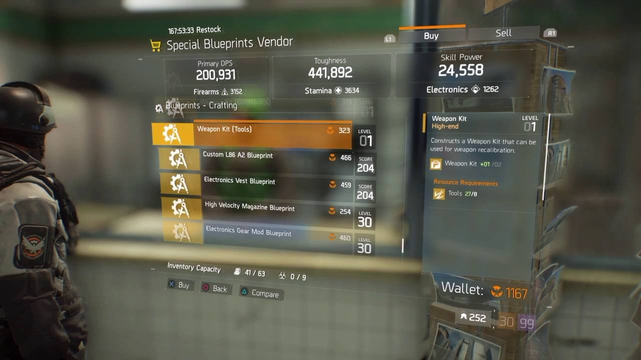 The division special blueprint vendor july 152016 ps4 youtube the division special blueprint vendor july 152016 ps4 malvernweather Image collections