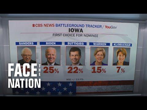 Face The Nation: Salvanto, Buttigieg, Political Panel