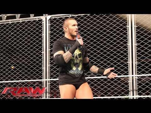 Randy Orton has a lot of RKOs to get out of his system: Raw, April 20, 2015