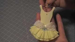 Paper Couture 13: Ballerina Muse Paper Dress