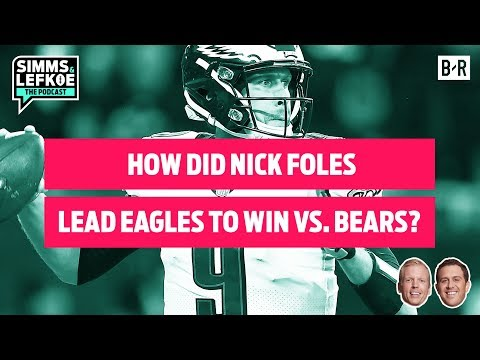 How Did Nick Foles Lead Eagles to Another MIRACLE WIN vs. Bears? 🦅 | Wild Card Weekend Recap