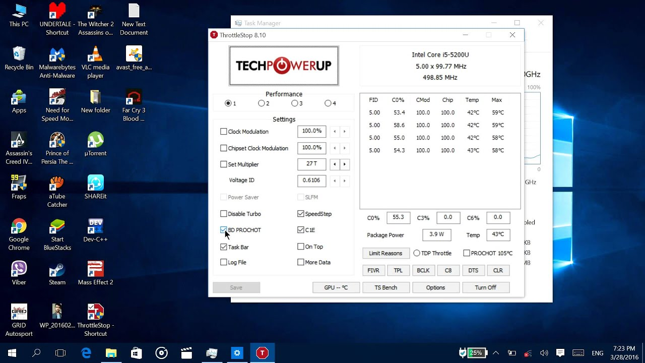 How to stop CPU slowdown/throttling while charging?- Windows Tutorial
