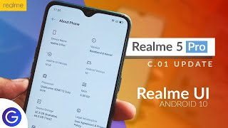 Realme 5 pro: C.01 Update with Realme UI Based on Android 10 | New Features in Detail Explanation ⚡⚡