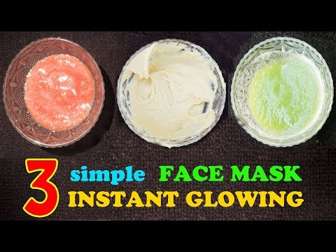 3 BEST FACE MASK FOR SKIN WHITENING & CLEAR SKIN | SKIN CARE ROUTINE FOR OILY SKIN & DRY SKIN