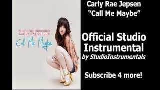 """CALL ME MAYBE"" [Karaoke/Instrumental] - Carly Rae Jepsen Official Studio Version"