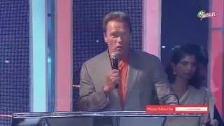 "Arnold Schwarzenegger Speech at ""I ""Movie Audio Launch  | WWW.2DAYCINEMA.COM"