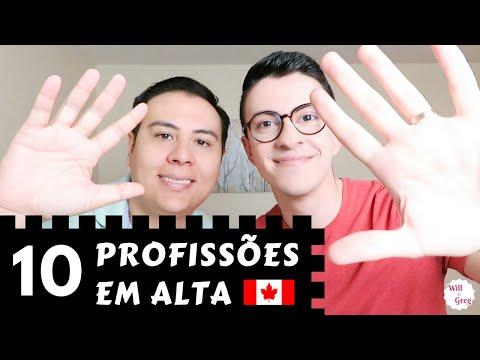 10 PROFISSÕES em ALTA no CANADÁ 2018