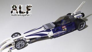 Lego Technic 42033 Record Breaker / Action Raketenauto - Lego Speed Build Review