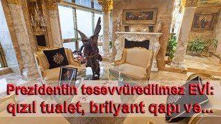 Prezidentin təsəvvüredilməz EVİ: qızıl tualet, brilyant qapı və...