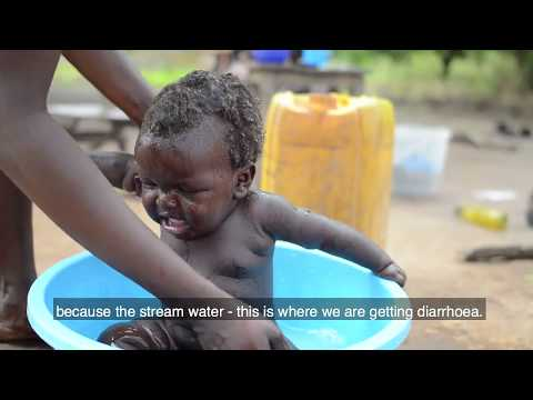 Bringing safe and clean water  to homes in rural South Sudan