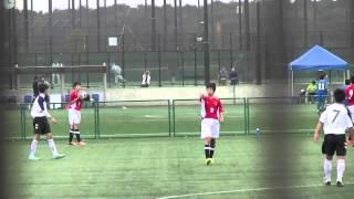 renato shikina...愛川東中学校 サッカー部 前半1-0