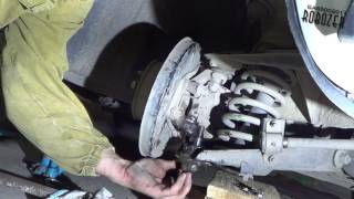 Как снять Шаровую на классике Замена шаровой опоры нижней ВАЗ 2105 Классика 2017