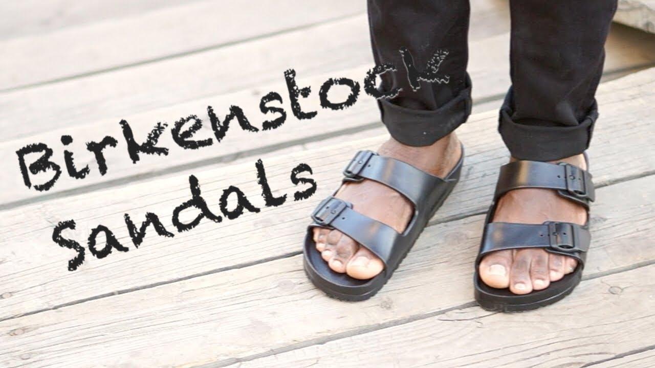 5e857bbf5943 Review  Birkenstock Arizona Sandals - YouTube
