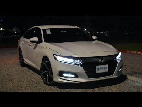 Honda Accord Sport >> Night Time: 2019 Honda Accord Sport - YouTube