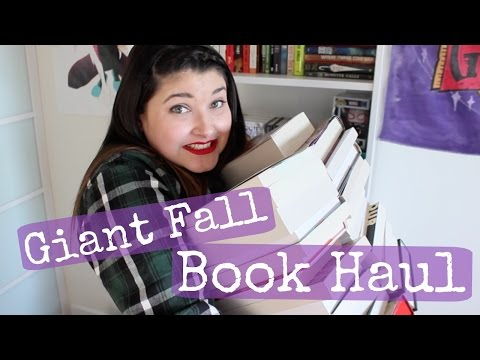Giant Fall Book Haul | 2016