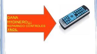 como reparar un control remoto