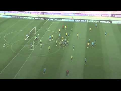 Bacary Sagna's unbelievable goal in France training.