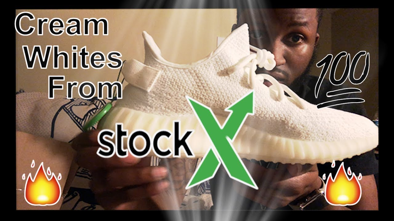 b7d6a6fc73f8e Legit Cream White Yeezys From Stock X   - YouTube