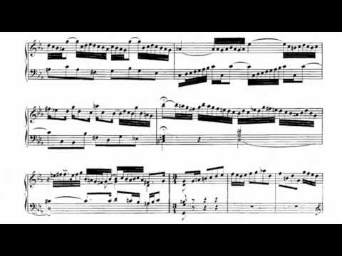 Bach, Partita No.2 in C Minor, BWV 826 [1/6]