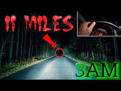 (GONE WRONG) PLAYING THE 11 MILES RITUAL // 3AM CHALLENGE (The Road Doesn't end)