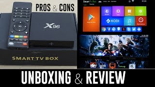 x96 Android Smart Tv Box & All The Free Tv apps that work best, H96, v88, mqx, t95n