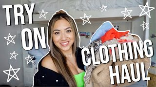 COLLEGE TRY ON CLOTHING HAUL!! // FT. PRINCESS POLLY