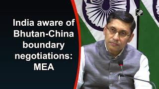 India aware of Bhutan-China boundary negotiations: MEA