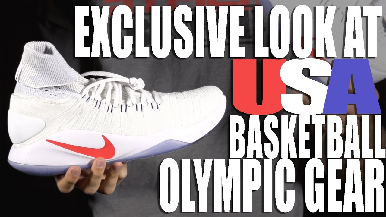 Get an Exclusive Look at USA Basketball s Nike Olympic Gear - YouTube 509ba509af09a