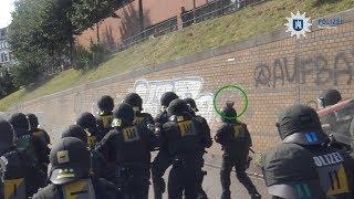 Neue Polizei-Videos veröffentlicht: So heftig war der G20-Gipfel in Hamburg wirklich