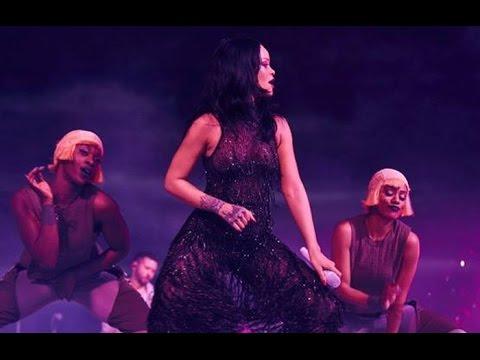 Rihanna Anti World Tour Music Concert Kicks Off In Jacksonville, FL