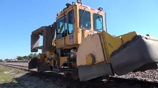 Rail Action Near The Myrtle Work