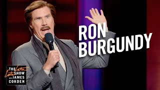 Ron Burgundy Stand-Up & Podcast Dream Guests