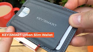 NEW KeySmart Urban Slim Wallet 2019 | RFID Wallet and Tile Smart location!