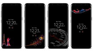 Download Custom Always on Display for Samsung Galaxy S8, S8+ and Note 8